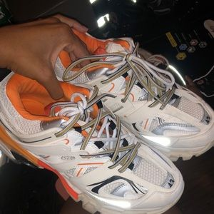 BALENCIAGA TRACK TRAINER SNEAKERS PREOWNED